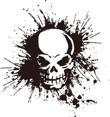 intense: splatter e il cranio