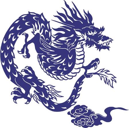 tatuaje dragon: Japon�s drag�n,
