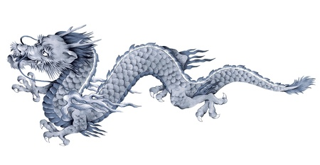 A Japanesque dragon Stock Photo - 17851698