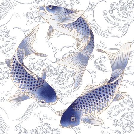 Japanese carp Stock Photo - 17926916