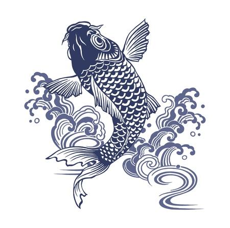 Japanese carp Stock Photo - 17927278