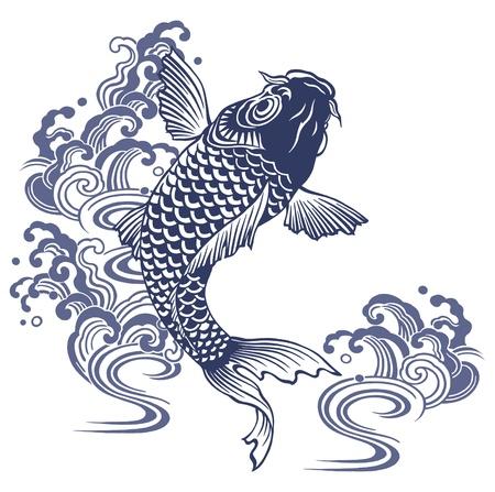 Japanese carp Stock Photo - 17927279