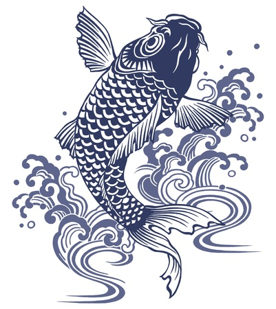 Japanese carp Stock Photo - 17927277