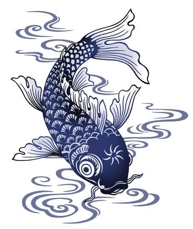 Japanese carp Stock Photo - 17927272