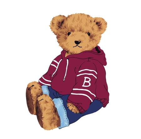 amiability:  little pretty bear  Stock Photo