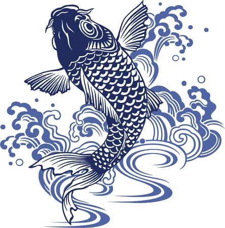 pez carpa: Carpa japonesa