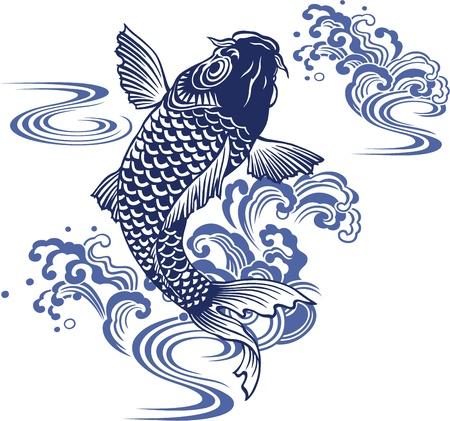 Japanese carp Reklamní fotografie - 18355219