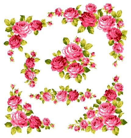 バラの花束  イラスト・ベクター素材