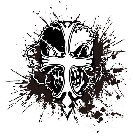 demoniac: splatter and the skull