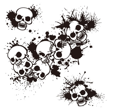 rebellious: splatter and the skull