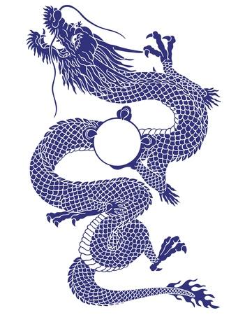 Japanesque dragon