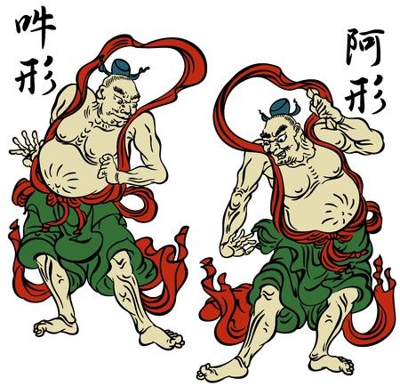 仏教のイメージ  イラスト・ベクター素材