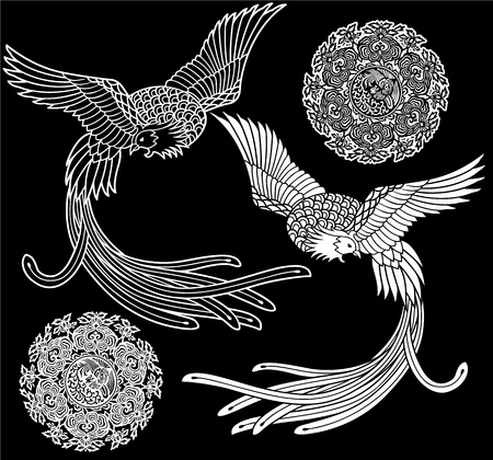 phoenix, Illustration