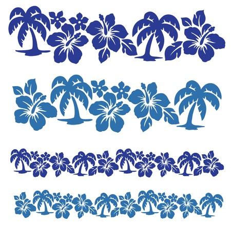 palmboom, Stock Illustratie