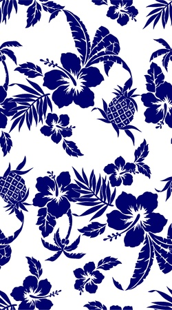 ibiscus: Hibiscus e un ananas
