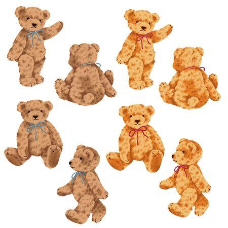 whim: small bear, Stock Photo