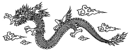 dreadful: Japanesque dragon
