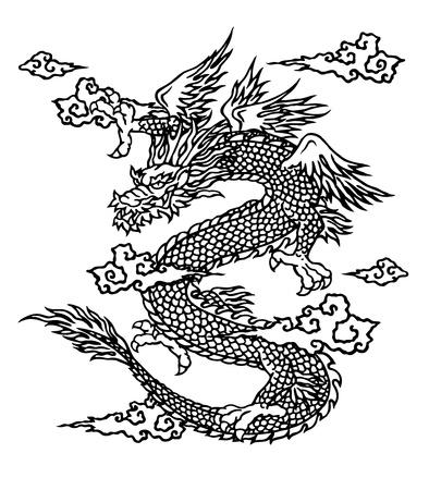 tatouage dragon: Japanesque de dragon