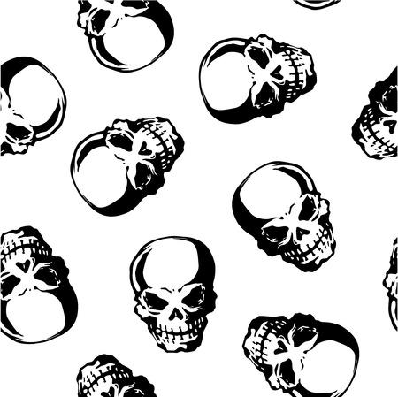 whole creature:  skull pattern
