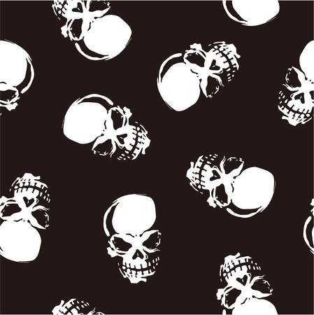 whole creature: skull pattern Illustration