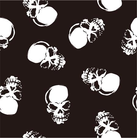 whole creature: skull pattern Illustration