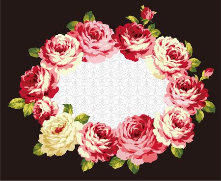jealousy: decoration of  rose