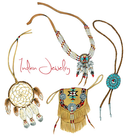 necklet:  Indian jewelry