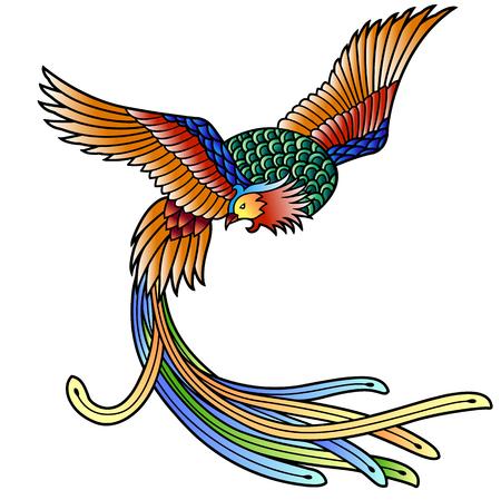 phoenix bird: Chinese phoenix
