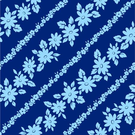 Floral design seamlessly