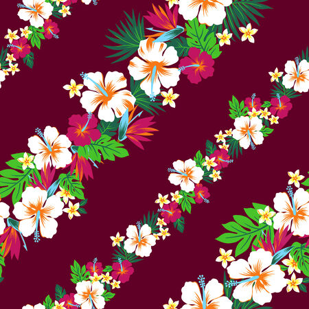 Repetition of Hibiscus Stock Photo - 25869518