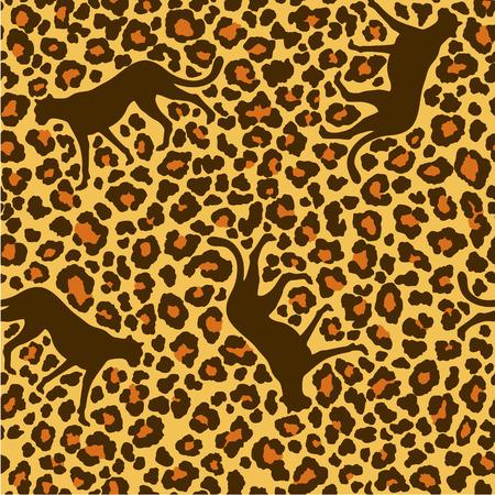 panthera: modello animale Vettoriali
