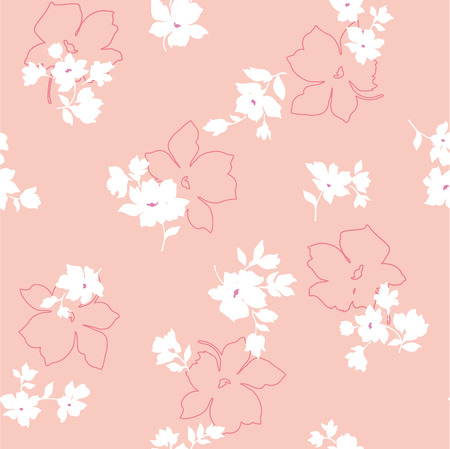 naturally: Seamless floral design