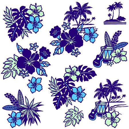 picture of Hibiscus Illustration