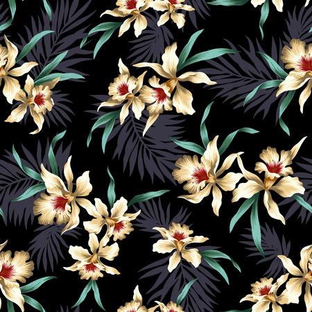 pattern of Cattleya Foto de archivo