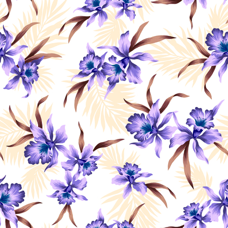 pattern of Cattleya photo