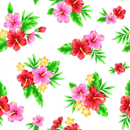 naturally: Repetition of Hibiscus