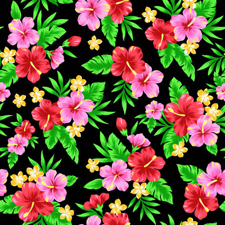 continued: Repetition of Hibiscus