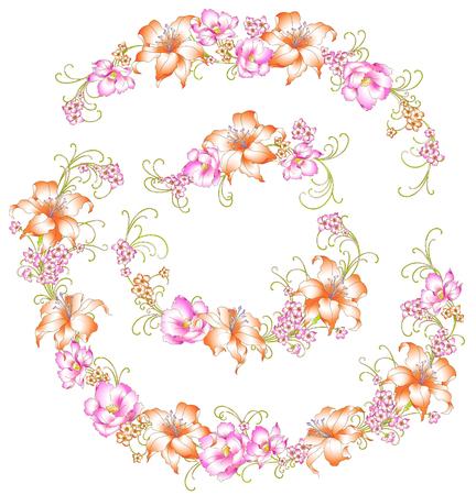 cutwork:  beautiful lily