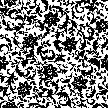 printed cotton pattern Vector