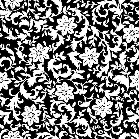 printed cotton pattern Illustration