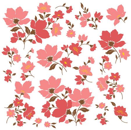 material: Flower material
