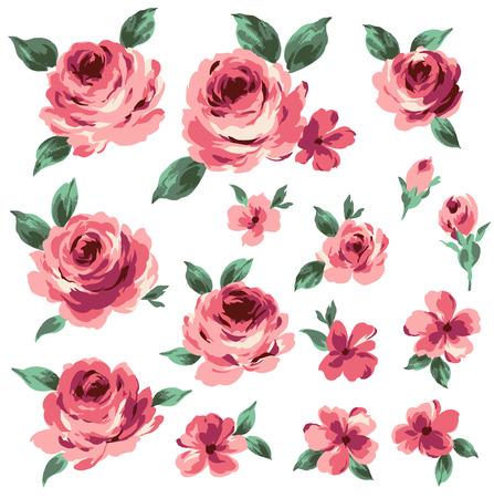 jealousy: illustration of rose Illustration