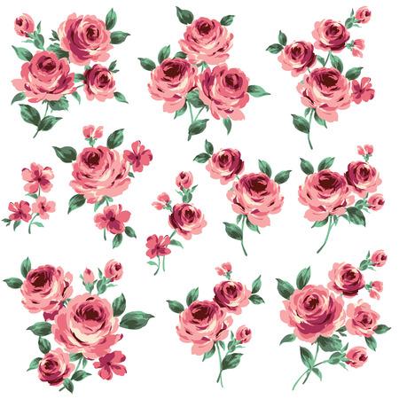illustration of rose Vector