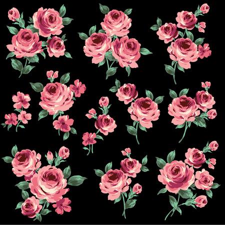 illustration of rose 向量圖像