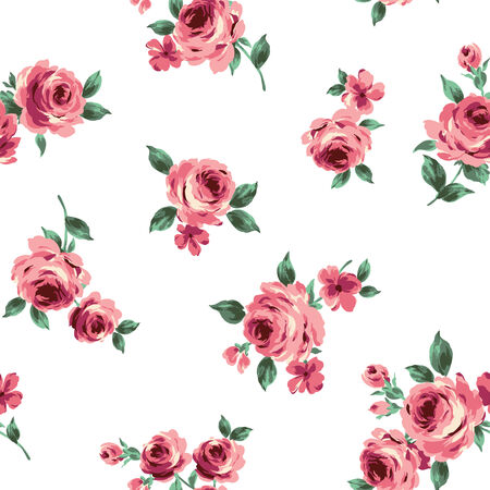 pattern of the rose Vector