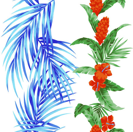 repeated: Repetition of Hibiscus