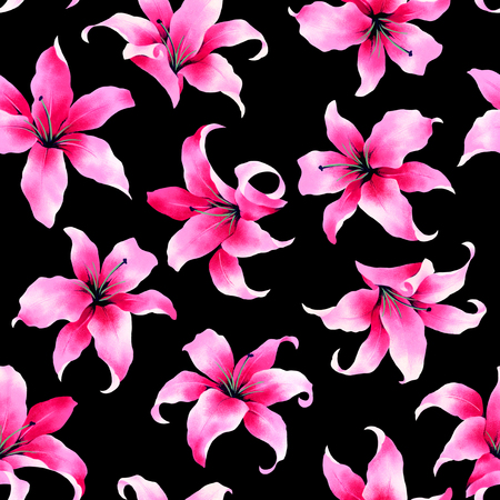 cutwork: pattern of the lily