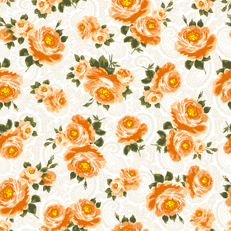 cutwork: pattern of the rose