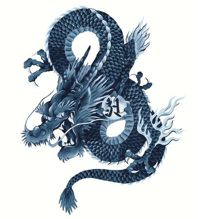 Japanese dragon photo