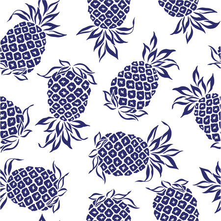 pattern of pineapple,  Vector
